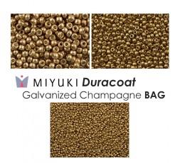 Miyuki Duracoat Galvanized Champagne BAG