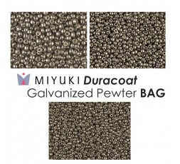 Miyuki Duracoat Galvanized Yellow Gold BAG