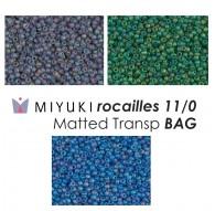 Miyuki Duracoat Galvanized Pewter BAG