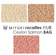 Miyuki Rocailles Ceylon Salmon BAG