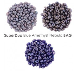 SuperDuo Blue Amethyst Nebula BAG