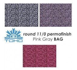 TOHO Round 11/0 PermaFinish Saffron Red BAG