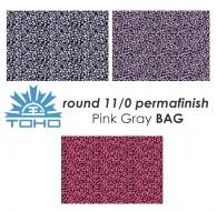 TOHO Round 11/0 PermaFinish Saffron Red BAG