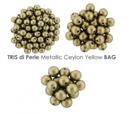 Tris di Perle Metallic Limelight BAG