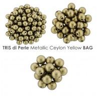 Tris di Perle Metallic Limelight BAG