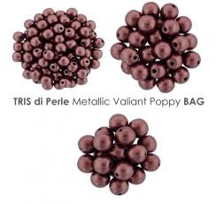 Tris di Perle Metallic Russet Orange BAG