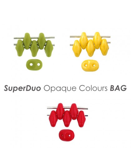 SuperDuo Opaque Colours BAG