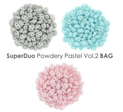 SuperDuo Powdery Pastel vol.1 BAG