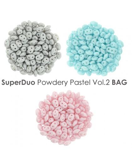 SuperDuo Powdery Pastel vol.1 BAG