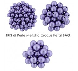 Tris di Perle Metallic Valiant Poppy BAG