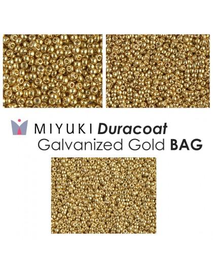 Miyuki Duracoat Galvanized Silver BAG