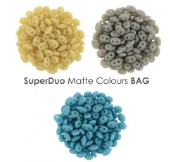 Superduo Matte Colours BAG