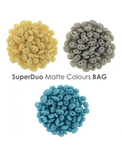 Superduo Matte Colours BAG