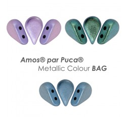 Amos® par Puca® Metallic Colour BAG
