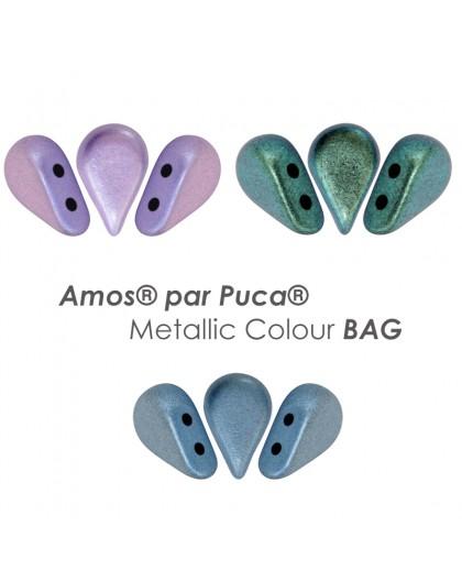 Amos® par Puca® Metallic Colour BAG