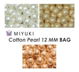 Miyuki Cotton Pearl 12 MM BAG