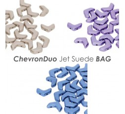 ChevronDuo Jet Suede BAG