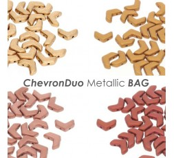 ChevronDuo Metallic BAG