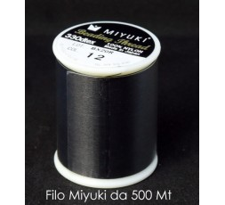 BIG BAG - Filo Nylon Miyuki Black da 0,25mm - 500 mt