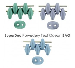 SuperDuo Powedery Teal Ocean BAG