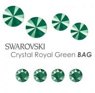 SWAROVSKI Crystal Burgundy Delite BAG