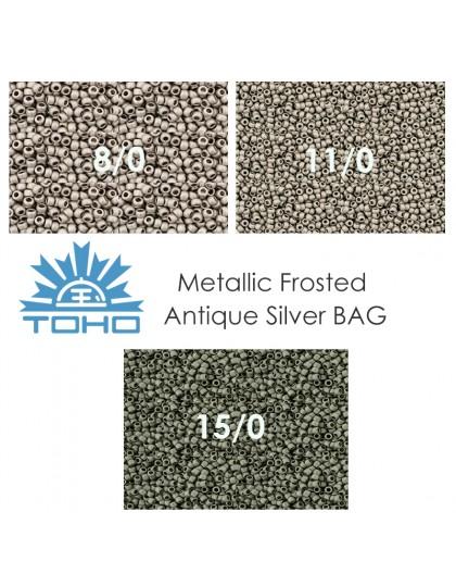 TOHO Metallic Frosted Antique Bronze BAG