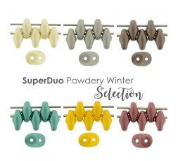 Superduo Powdery Winter Selection