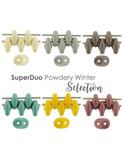 Superduo Powdery Winter Selection