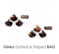 Ginko Dotted & Striped BAG