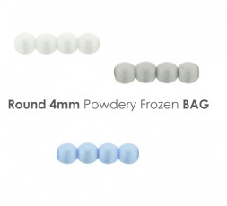 Round 8 mm Chalk White Vol.2 BAG