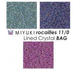 Miyuki Lined Crystal BAG