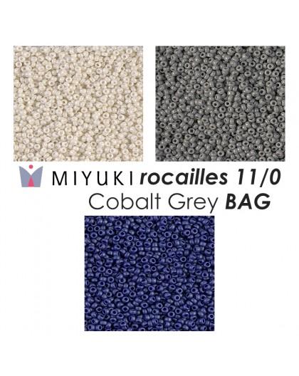 Miyuki Cobalt Grey BAG