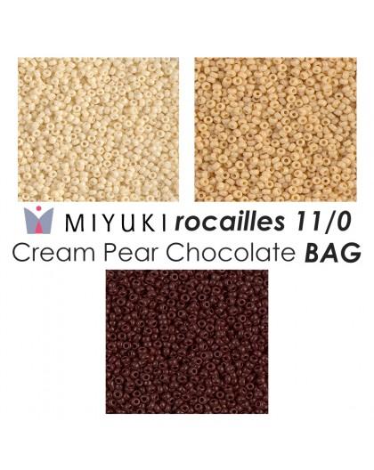 Miyuki Cream Pear Chocolate BAG