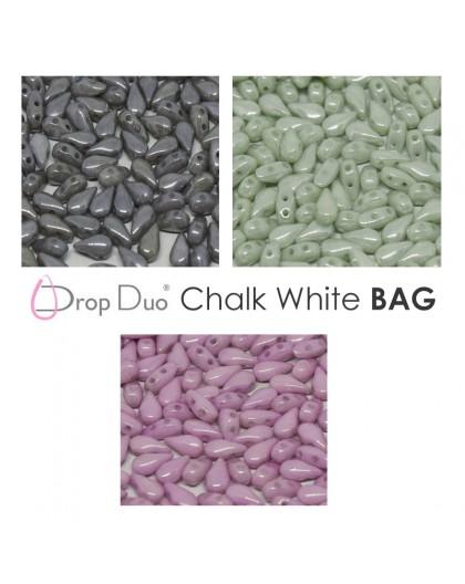 DropDuo Chalk White BAG