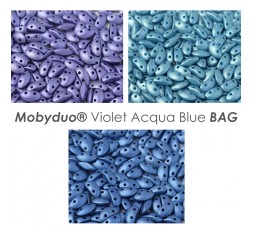 Mobyduo® Violet Acqua Blue BAG