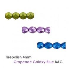 Firepolish 4mm BlueStone BAG