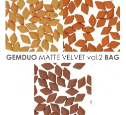 Gemduo 8x5MM Matte Velvet Vol.1 BAG