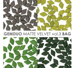 Gemduo 8x5MM Matte Velvet Vol.3 BAG
