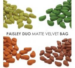Paisley Duo Matte Velvet BAG