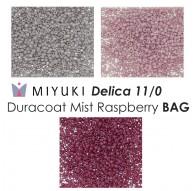 Miyuki Delica 11/0 Duracoat Mist Raspberry BAG