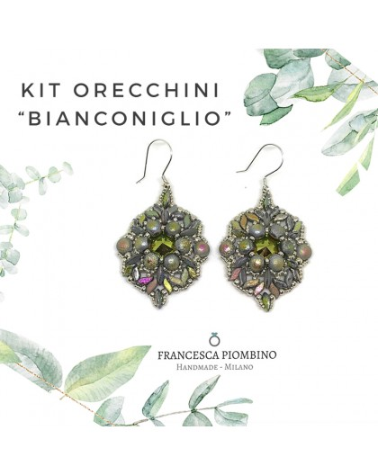 KIT ORECCHINI Raspberry Blue