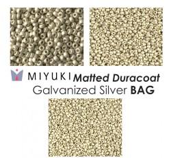 Miyuki Matted Duracoat Galvanized Gold BAG