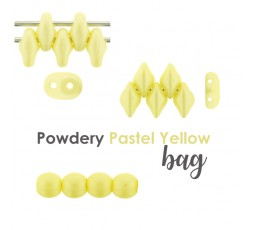 Powdery Pastel Yellow BAG