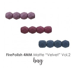 """FirePolish 4MM Matte """"Velvet"""" Vol.1 BAG"""