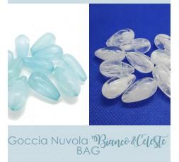 Goccia Nuvola Bianco&Celeste BAG
