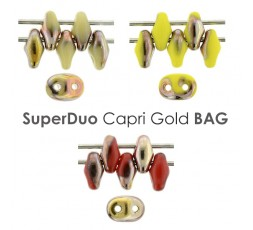 SuperDuo Capri Gold BAG