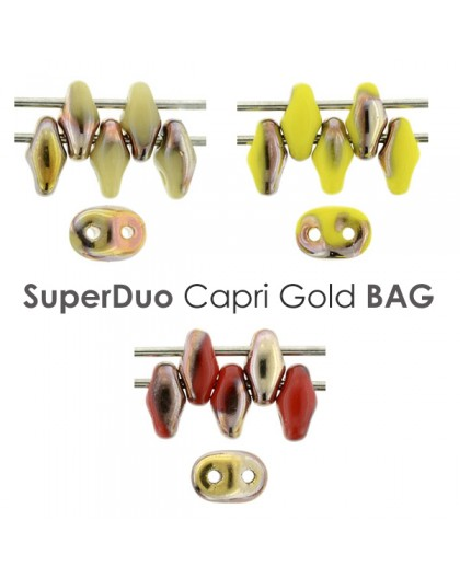 SuperDuo Capri Gold BAG