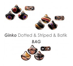 Ginko Dotted & Striped & Batik BAG