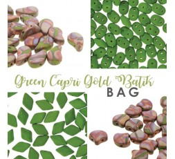 Green Capri Gold Batik BAG