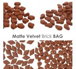 Matte Velvet Brick BAG